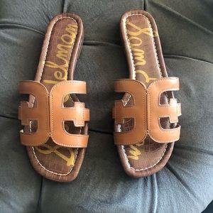 Sam Edelman Womens Bay  Casual Slide Sandals